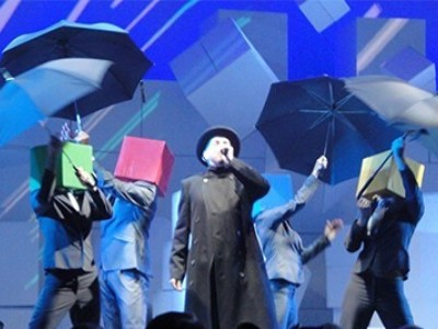 Концерт Pet Shop Boys на Арене O2 в Лондоне