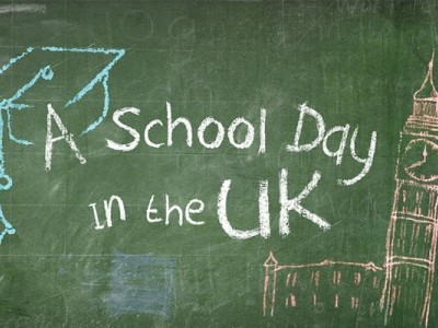 A school day in the UK. 8-я серия